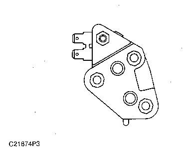 3116 and 3126 Truck Engines Voltage Regulator
