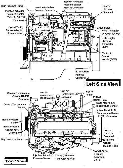 Cat 3406e Engine Sensor Diagram
