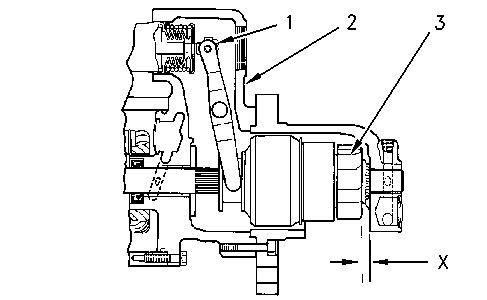 37-MT, 41-MT, and 42-MT Series Starting Motors Pinion