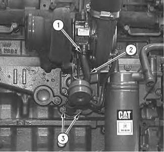 3116 and 3126 Truck Engines Turbocharger