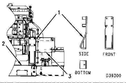 3100 HEUI Truck Engine Installation Engine Supports