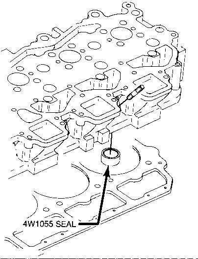 Use Care When Handling Water Seals For Cylinder Head