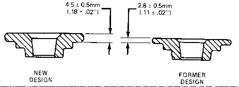 New 6V7059 Micrometer Measures Liner Top Flange And Valve