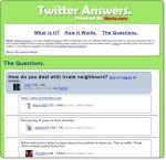 Twitter Answers: chiedi ai twitters quello che vuoi sapere