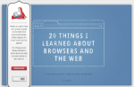 20 cose che ho imparato su browser e internet