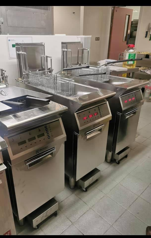 NHS Contract Electrolux 900XP Filtration Fryers