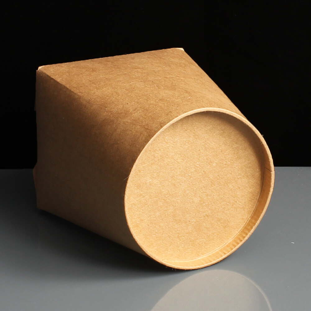 Biodegradable Small Food Tub  Brown Noodle Box