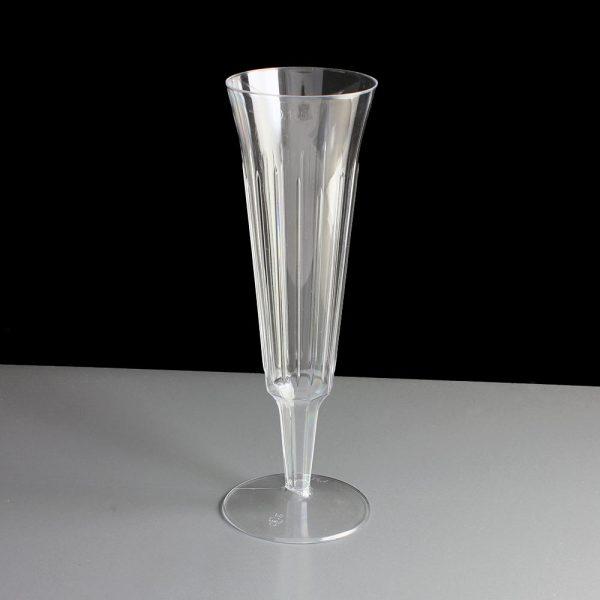 C7025b Plastic Champagne Flutes