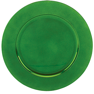 GREEN CHARGER PLATE 13 ROUND ACRYLIC  Buy GREEN CHARGER PLATE 13 ROUND ACRYLIC Online