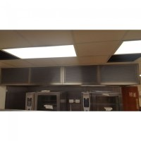 Commercial Extraction Ventilation Canopy with Lighting ...