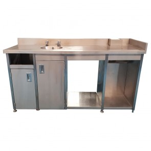 Used Stainless Steel Shelving Tables And Sinks