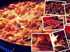Paella Catering zur Weihnachtsfeier