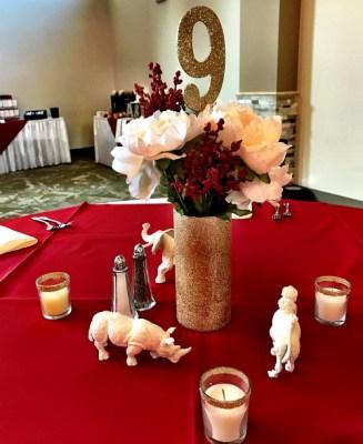 Heppard Wedding Centerpiece