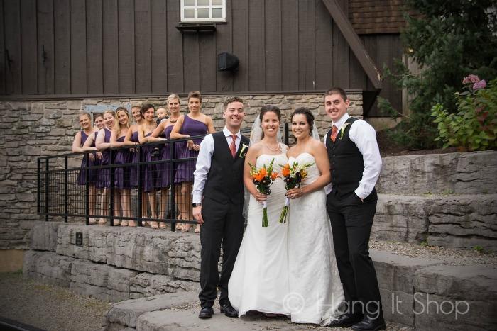 Brockhuisen wedding party