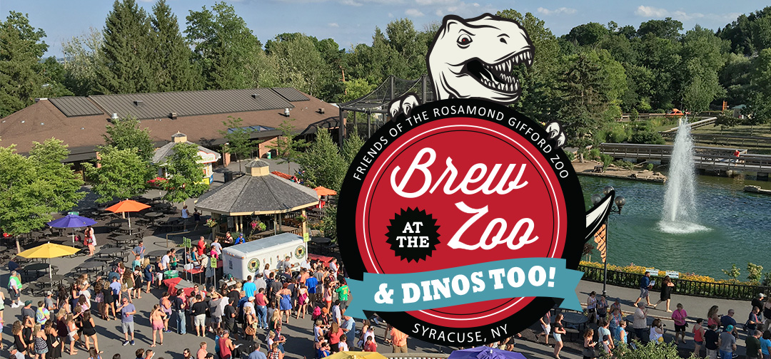 Brew at the Zoo & Dinos, Too! Syracuse Zoo