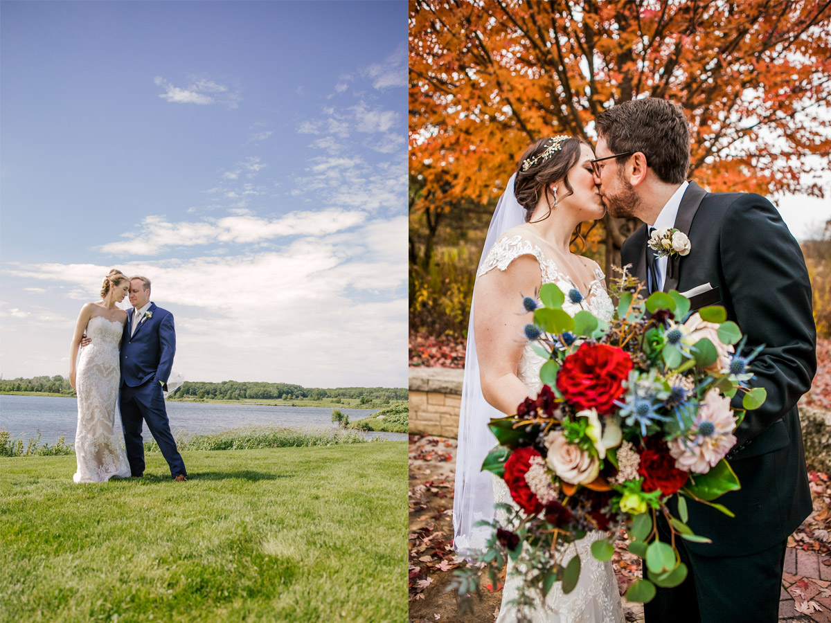 Outdoor wedding at Independence Grove