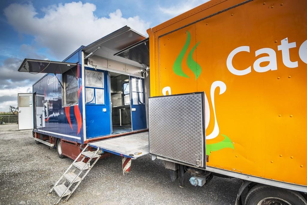 Cucine Mobili  Cateringo  Noleggio Cucina Mobile per