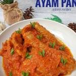Resep Ayam paniki Anti Gagal