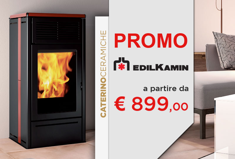 Offerte Edilkamin Caserta stufe a pellet termostufe e termocamini