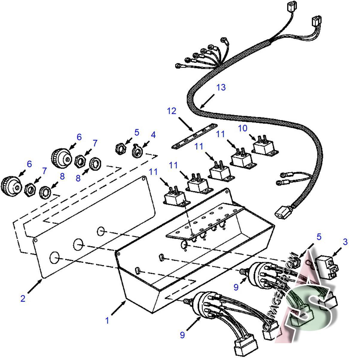 Komatsu Electric Parts