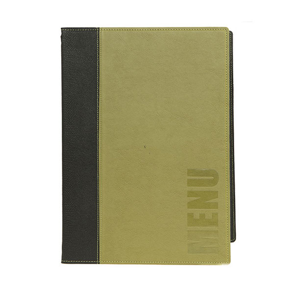 trendy green leather style a4