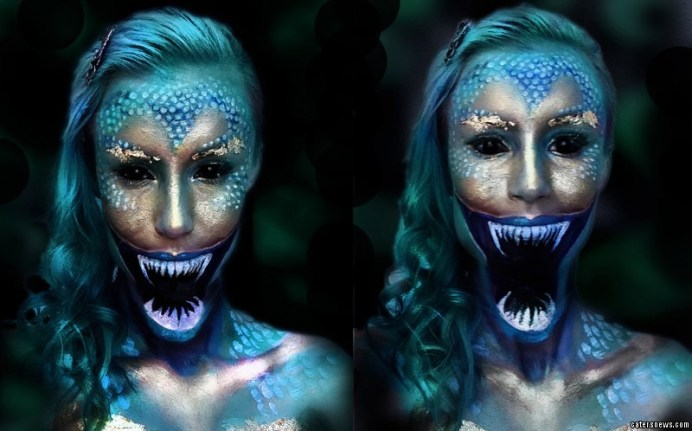 Mermaid Costumes Mermaid Makeup Halloween