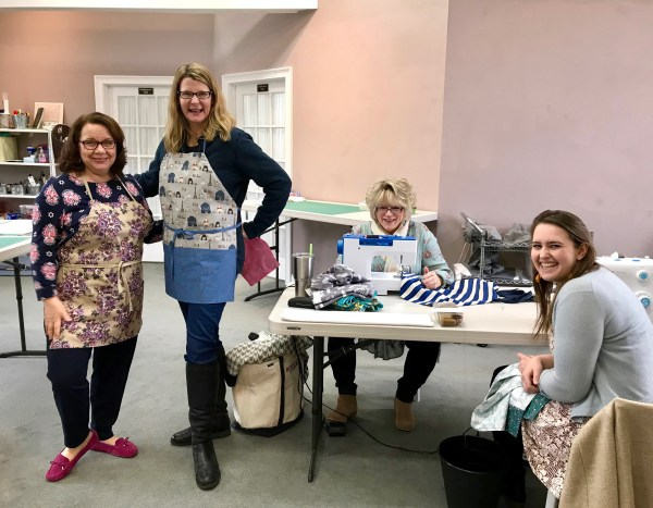 School of Sewing Aprons