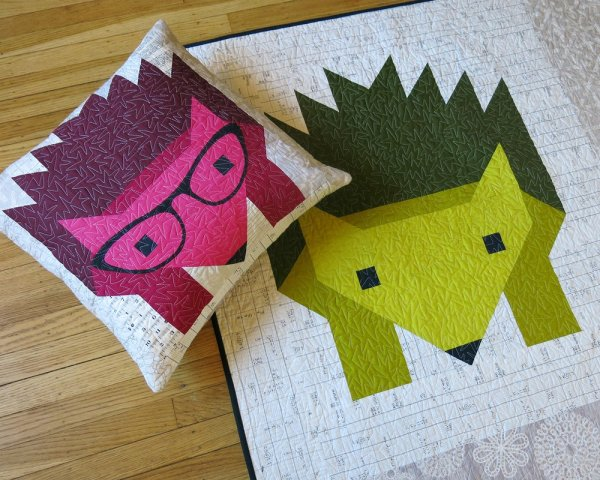 Hazel Hedgehog Pillow