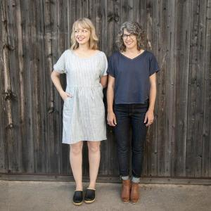 Fen Dress Workshop @ Cate's Sew Modern