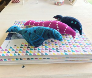 Three Little Birds Mobile Workshop @ Cate's Sew Modern