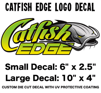 Catfish Edge Logo Decal