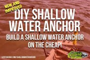 DIY Shallow Water Anchor - An Anchor Pole