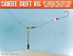 Santee Drift Rig For Catfish