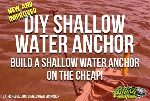 DIY Shallow Water Anchor Reloaded