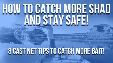 How To Catch More Shad (8 Cast Net Tips)