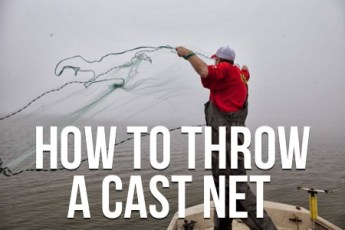 How To Throw a Cast Net