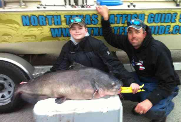 Texas State Record Catfish Caught Drift Fishing