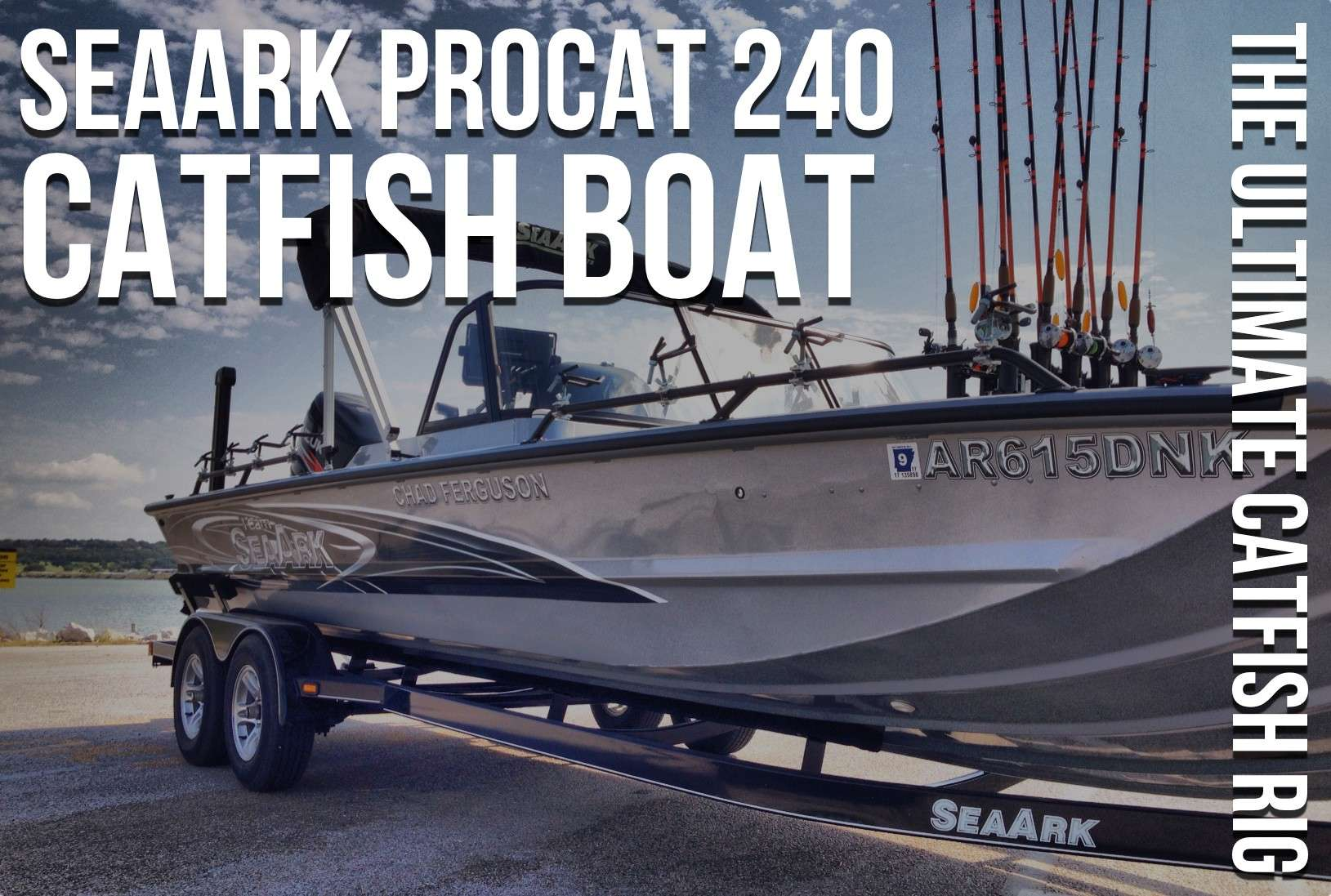 in july of 2014 i joined the seaark boats pro staff  i sold my boat when  the summer channel catfish action slowed down towards the end of the summer  and i