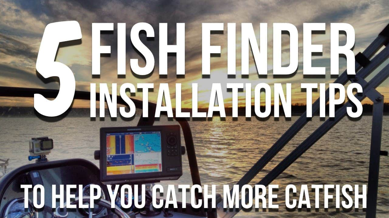 5 Fishfinder Installation Tips For Success And Catching More Catfish Chirp Wiring Diagram Lowrance Elite My Fish Finder Is The Most Important Tool On Boat I Rely It Than Anything Else Use To Be Successful Water