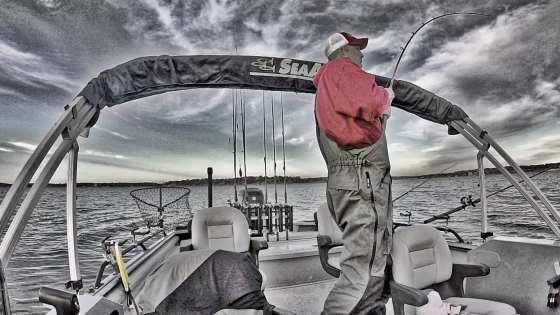 Chad Ferguson Catfish Rod Drift Fishing