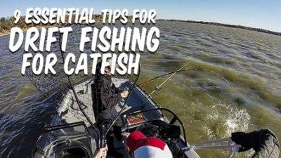 Drift Fishing Catfish Tips Cover