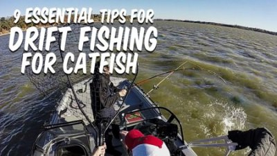 Drift Fishing Catfish Tips Cover