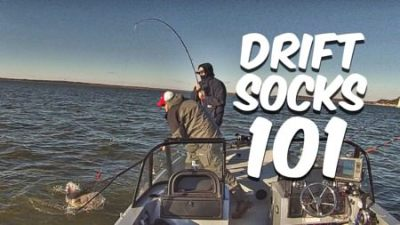 Drift Sock 101 Boat Control For Drift Fishing Catfish