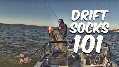 Drift Sock 101 Boat Control For Drift Fishing Catfish