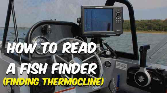 Finding Thermocline On Your Fish Finder
