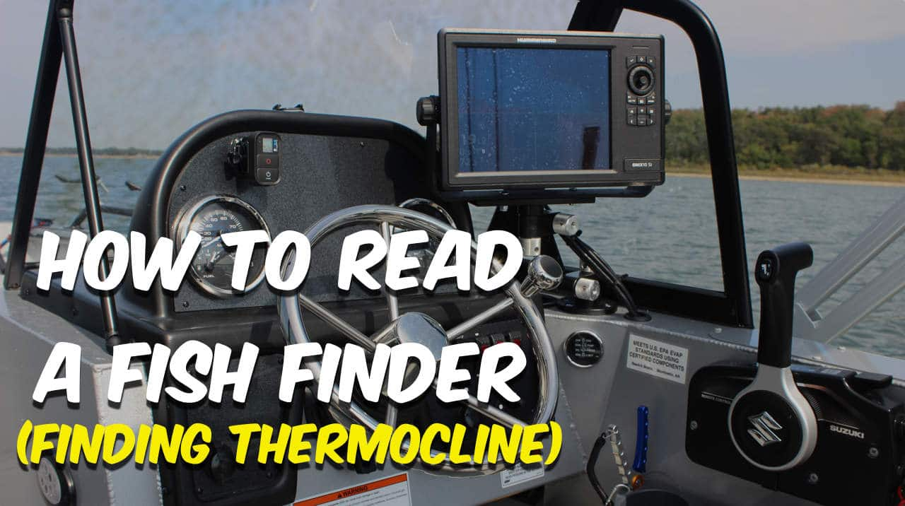How To Read A Fish Finder : Finding Thermocline
