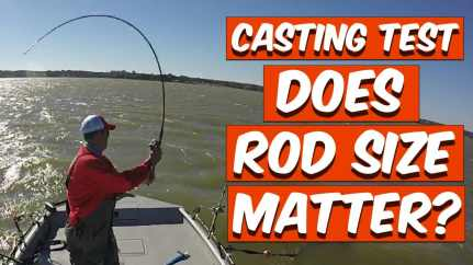 Catfish Rod Casting Test