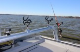 SeaArk Cat Rack Catfish Boat Rod Rack