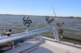 SeaArk Cat Rack Catfish Boat Rod Rack