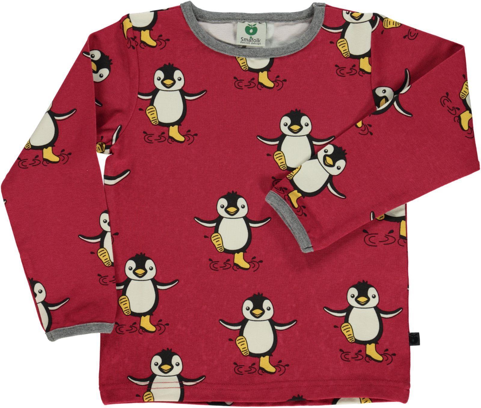 smafolk dark red penguin